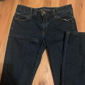 Sz 26 banana republic dark skinny jean